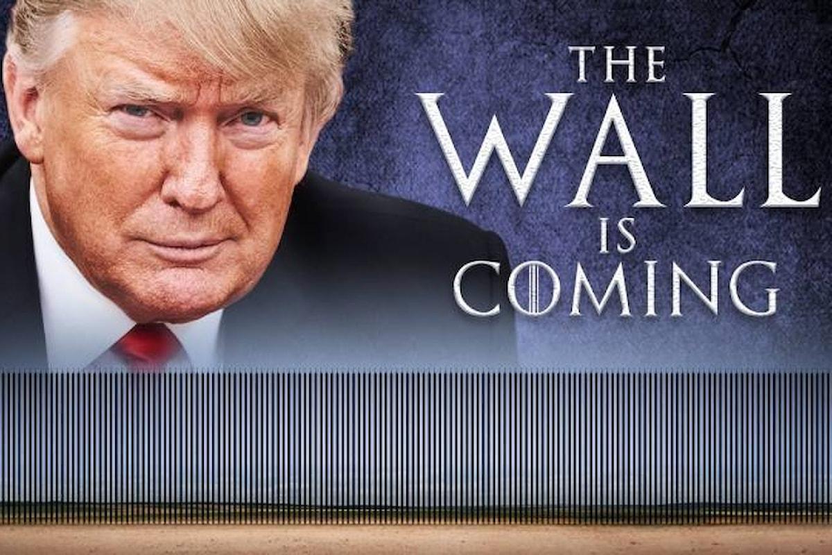 Trump vola al confine del Messico e annuncia che potrebbe dichiarare lo stato di emergenza