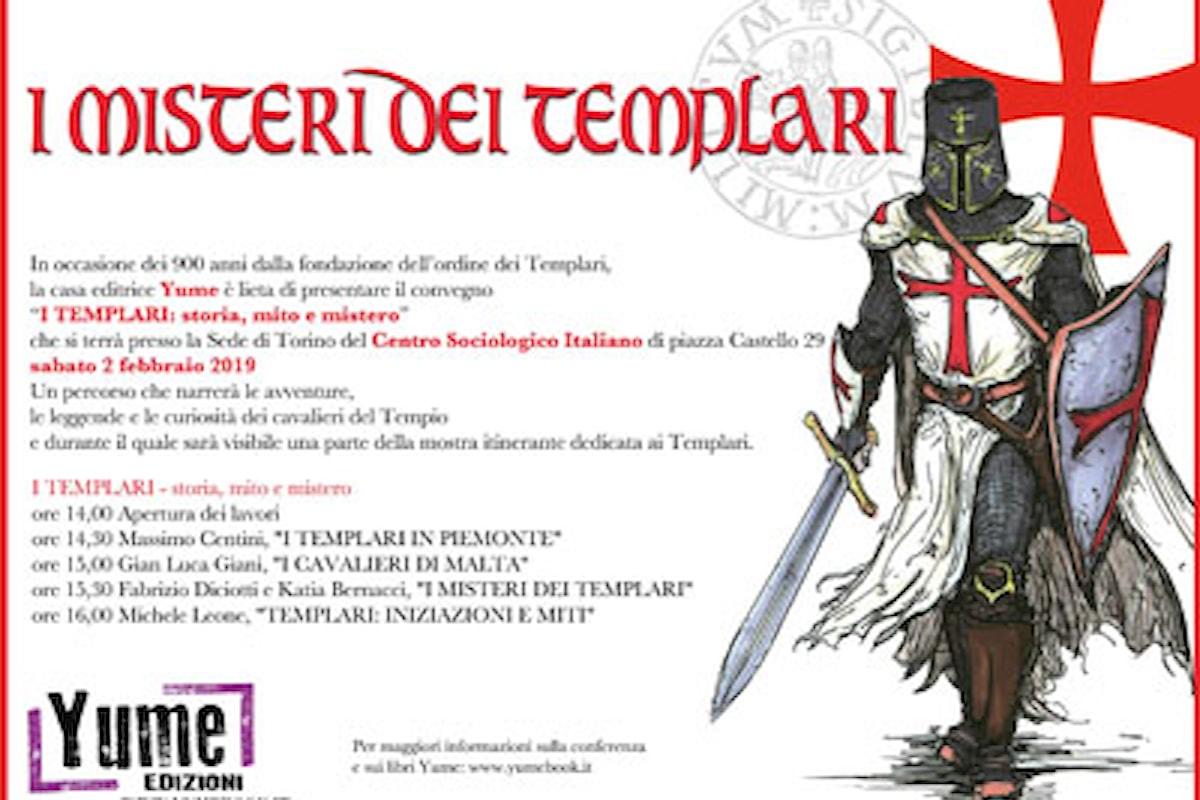 I misteri dei Templari: convegno Yume sulla storia dei cavalieri del Tempio