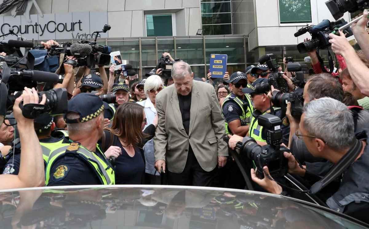 Il cardinale Pell in carcere in attesa della sentenza di primo grado