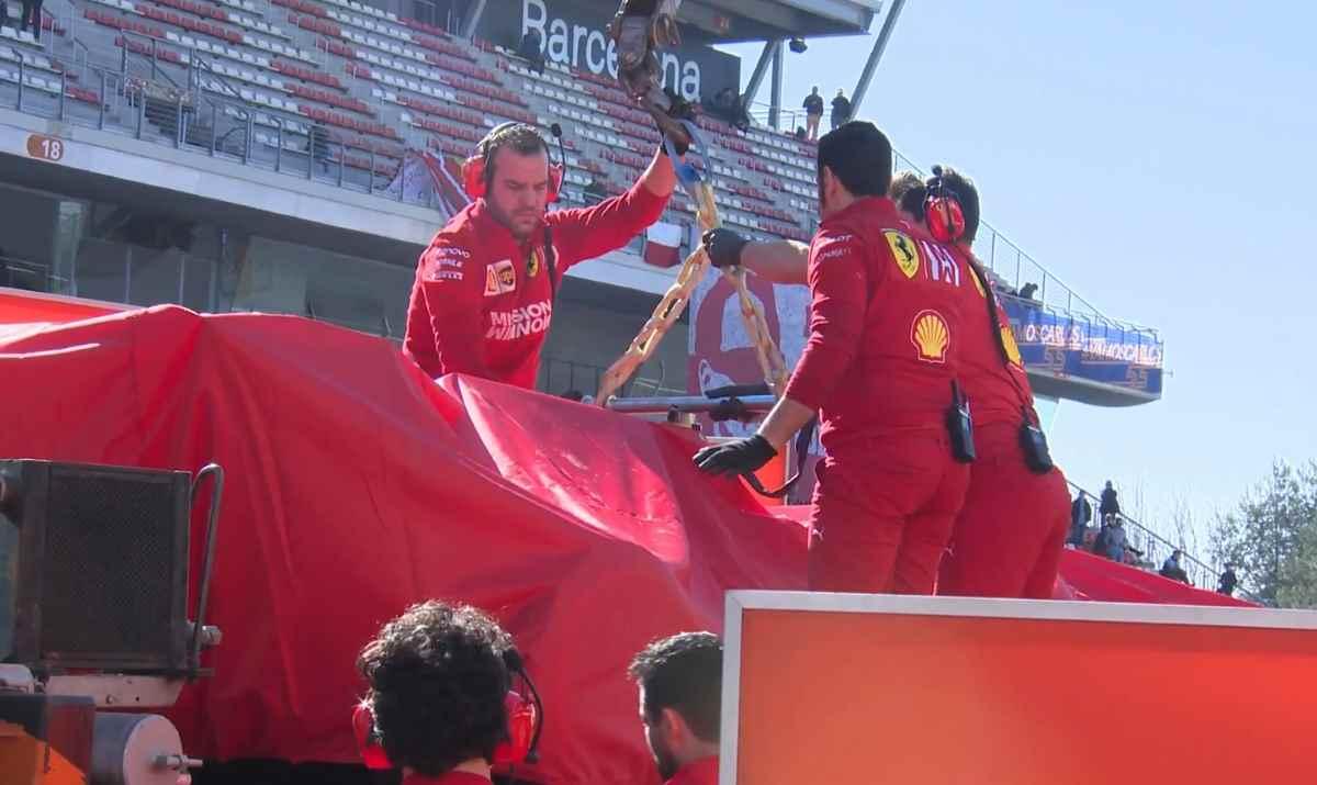 Formula 1. Nessuna conseguenza per Vettel uscito di pista nel secondo turno di prove in Spagna