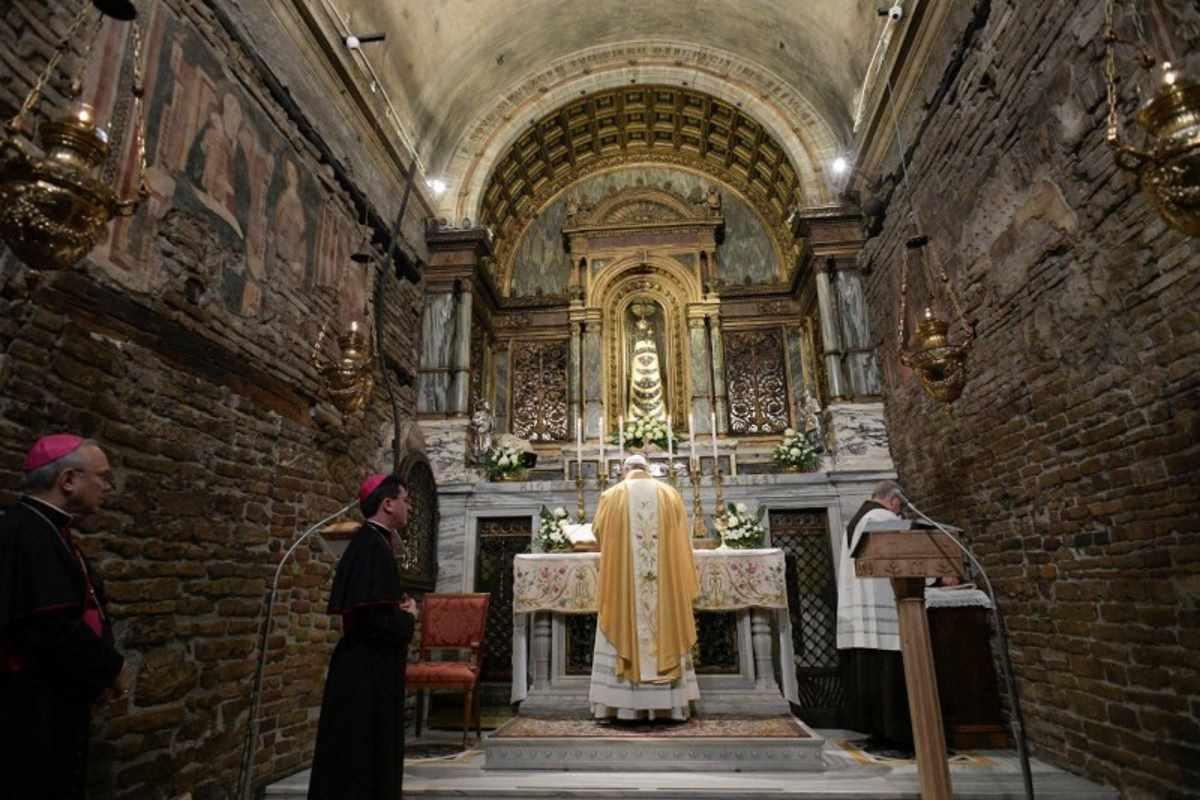 Papa Francesco a Loreto per la Festa dell'Annunciazione