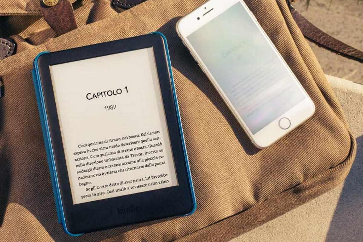 Amazon annuncia il nuovo Kindle con luce anteriore regolabile