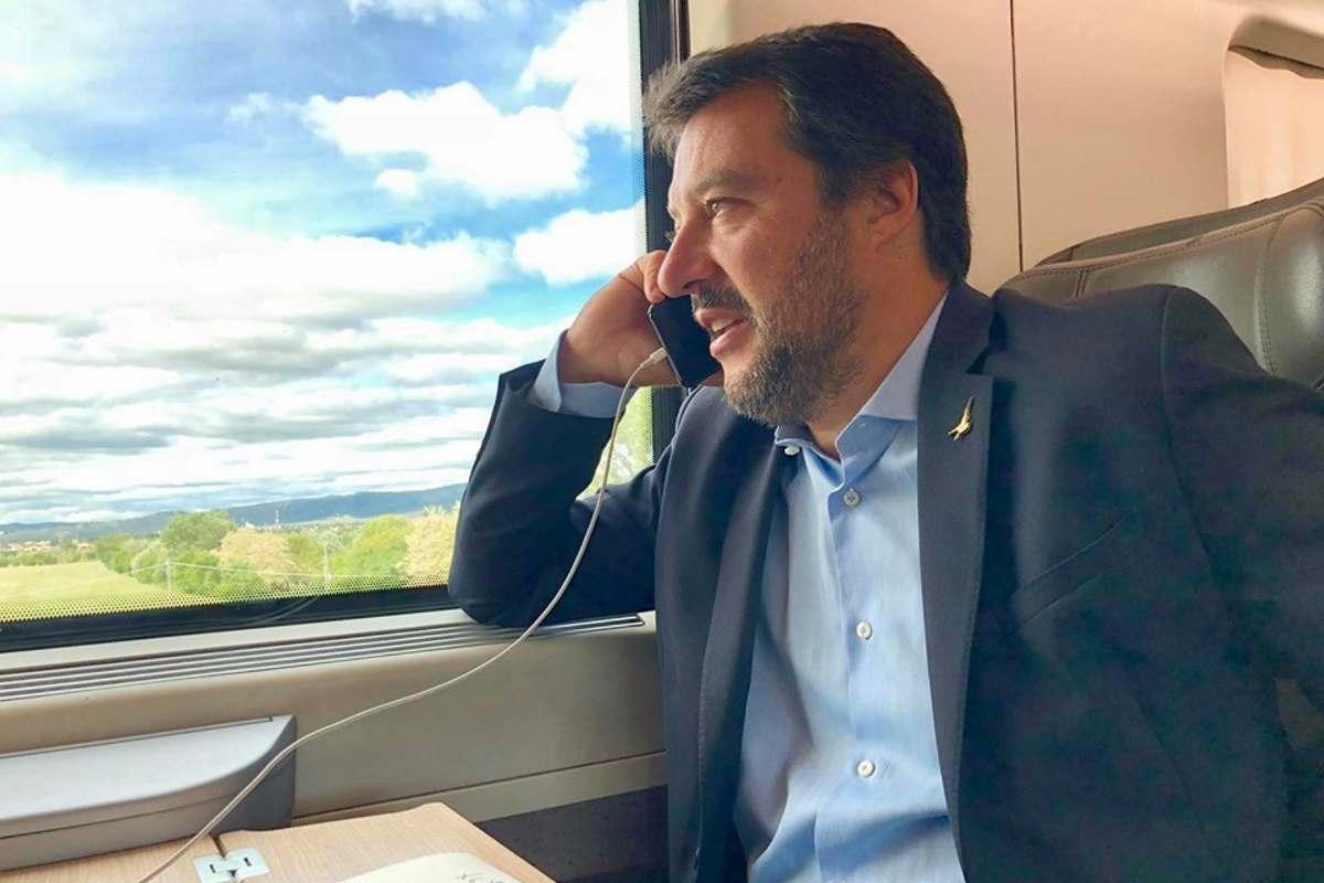 La Corte dei Conti adesso vuole vedere se l'utilizzo dei voli di Stato da parte di Salvini sia regolare o meno