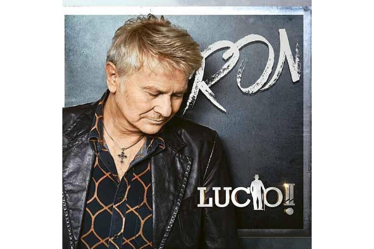 """""""Lucio!! il Tour"""", l'omaggio di Ron all'amico di sempre Lucio Dalla"""