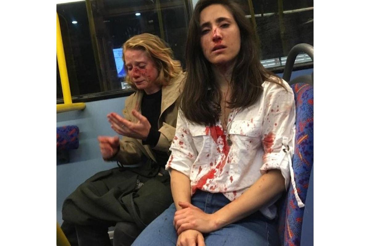 A Londra il branco aggredisce una coppia di lesbiche
