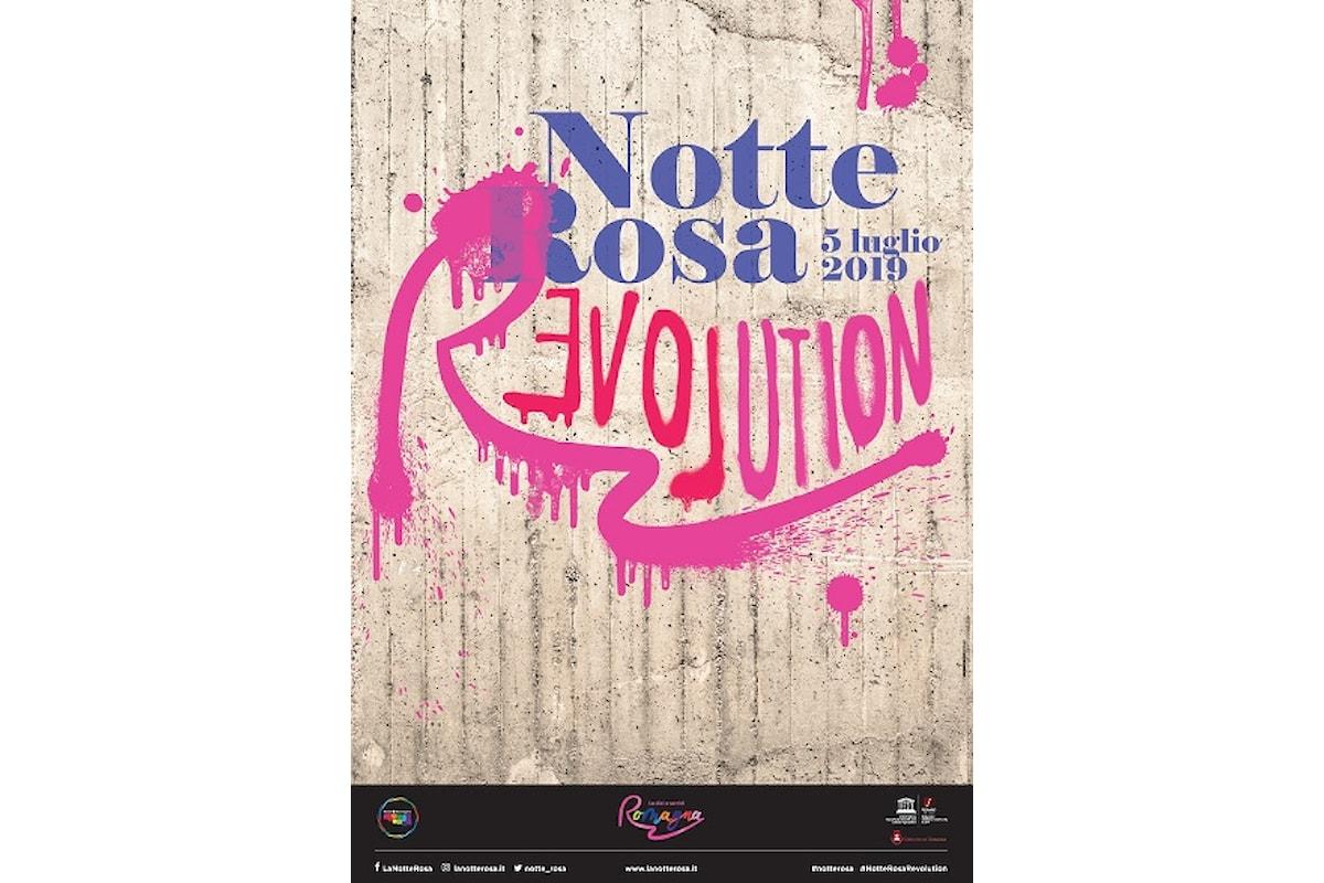 """La Notte Rosa, da domani è: """"PINK R-EVOLUTION"""""""