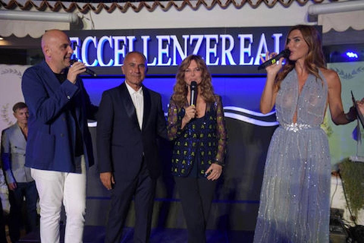 Pietro Del Vaglio, interior designer di fama mondiale a Capri ad Eccellenze Reali reincontra Grace e premia la De Sio