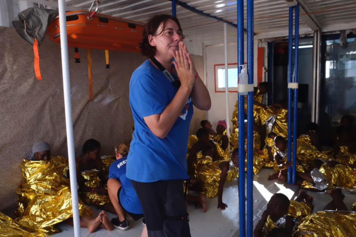 Il ministro dell'Interno vieta un porto sicuro ai bimbi a bordo della Mare Jonio