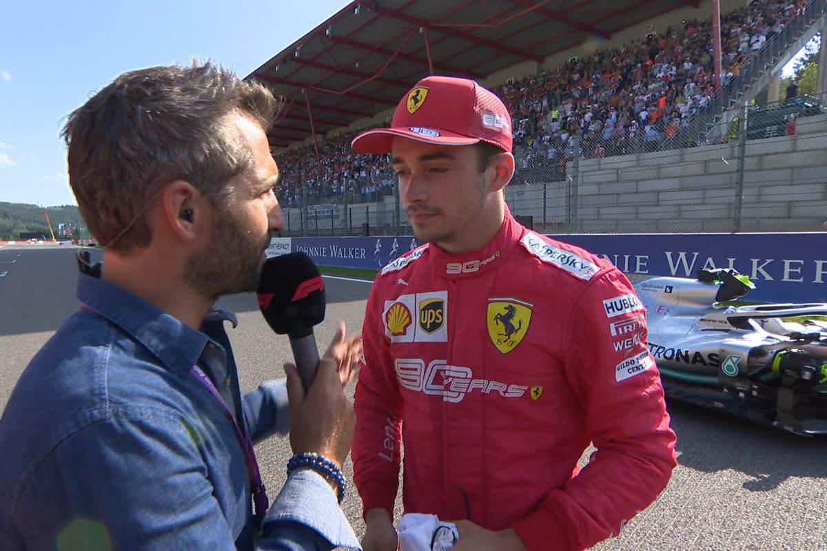 Formula 1, pole per Leclerc nel GP del Belgio 2019. Secondo Vettel