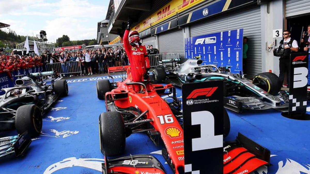 Formula 1, in Belgio dopo la pole per Leclerc è arrivata anche la prima vittoria
