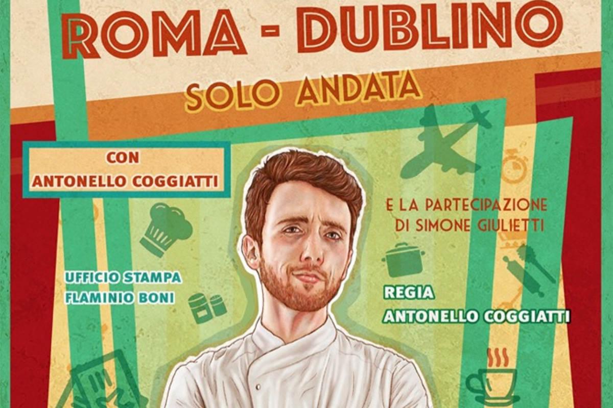 Roma – Dublino: solo andata, Teatro Porta Portese, 12 e 13 ottobre 2019