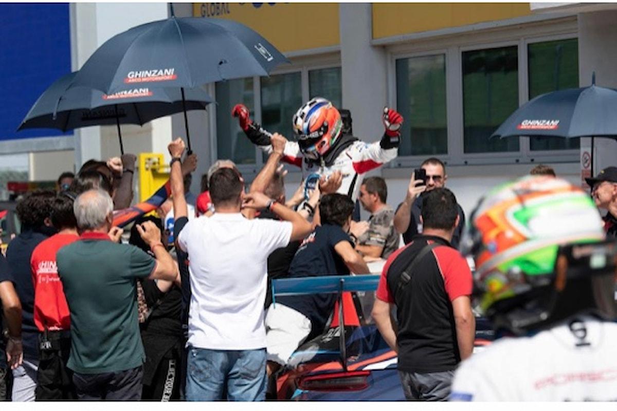 Porsche Carrera Cup Italia a Vallelunga rivoluziona la classifica e Iaquinta è il nuovo Leader