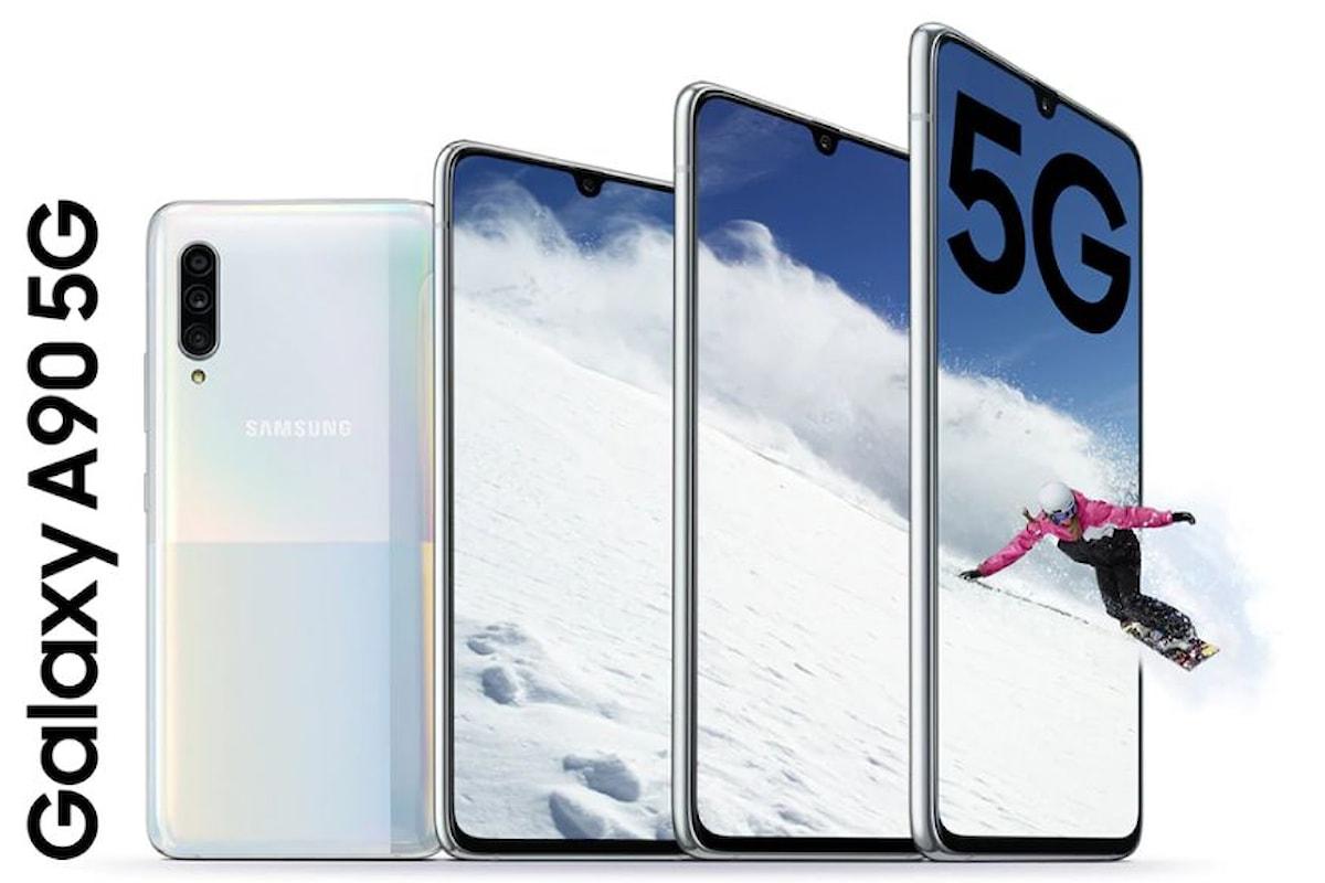 Samsung Galaxy A90 5G presentato ufficialmente: il nome è quello di un medio di gamma, ma è un vero top di gamma!
