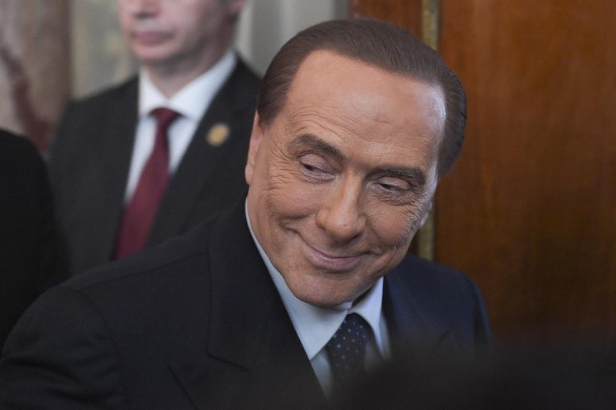 Silvio Berlusconi incorona Matteo Salvini come Leader del Centrodestra