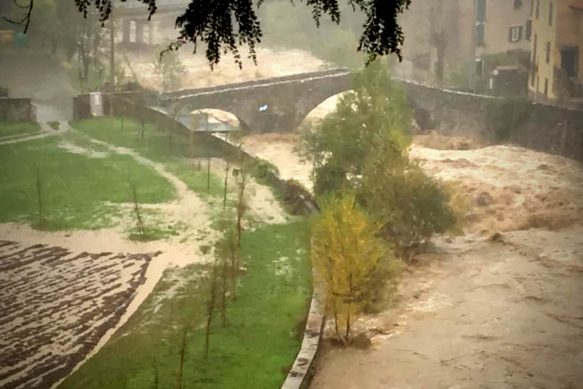 2 morti in Piemonte per il maltempo che ha colpito soprattutto la provincia di Alessandria