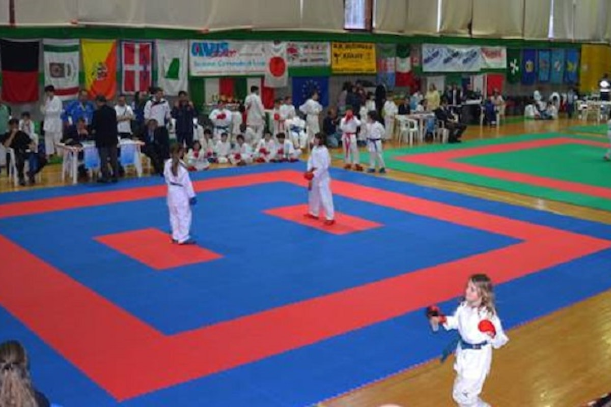 Karate sportivo: per gli agonisti 'esordienti' poter gareggiare è una questione di peso