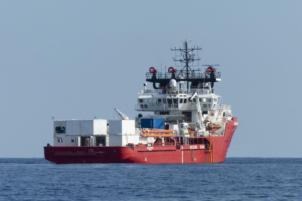 Il 3 ottobre la Ocean Viking ha iniziato una nuova missione nel Mediterraneo Centrale