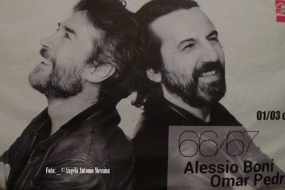 66/67, Un concerto di Alessio Boni e Omar Pedrini