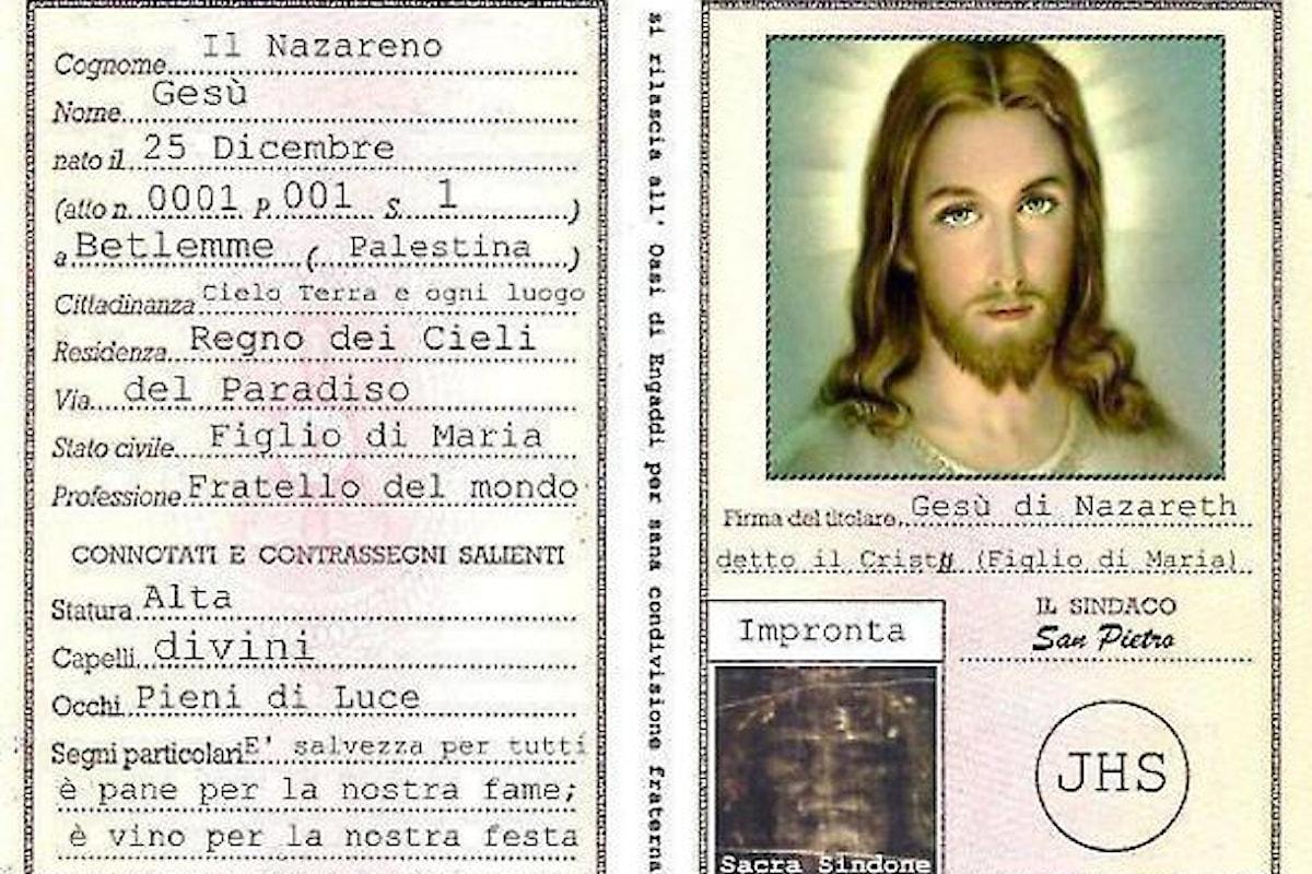 Radio Maria presenta il documento d'identità di Gesù Cristo