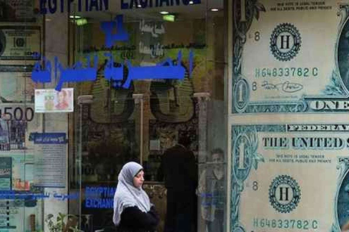 Cambi e mercati, continua a stupire la valuta egiziana