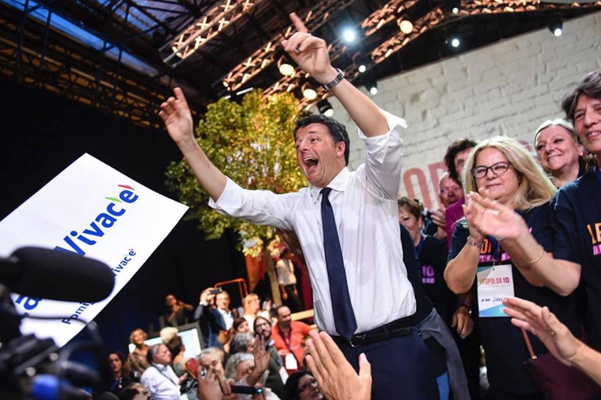 Italia Viva? E perché non chiamarlo Forza Renzi?