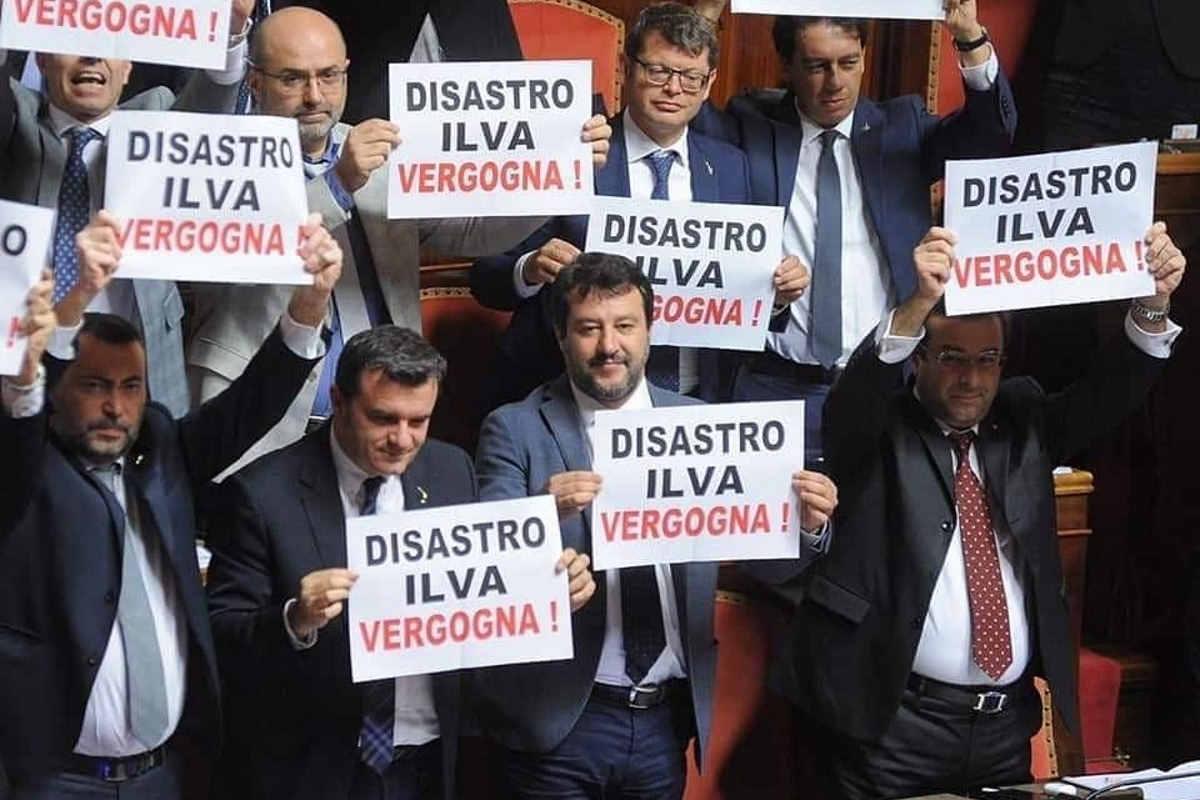 Salvini: prima gli italiani? No, gli indiani!