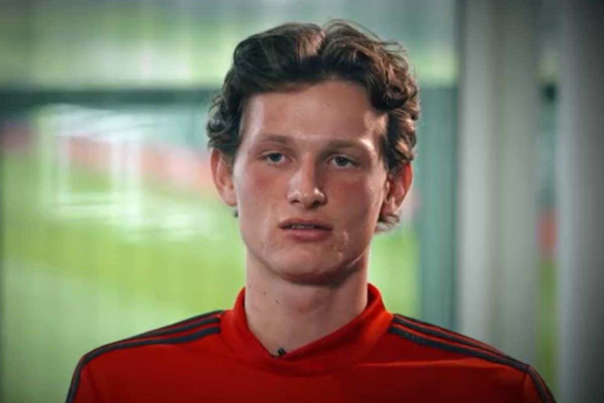 Il gol più bello di Max Taylor: dopo la chemioterapia il difensore 19enne è stato convocato da Solskjaer per la gara di Europa League tra Man Utd e Astana