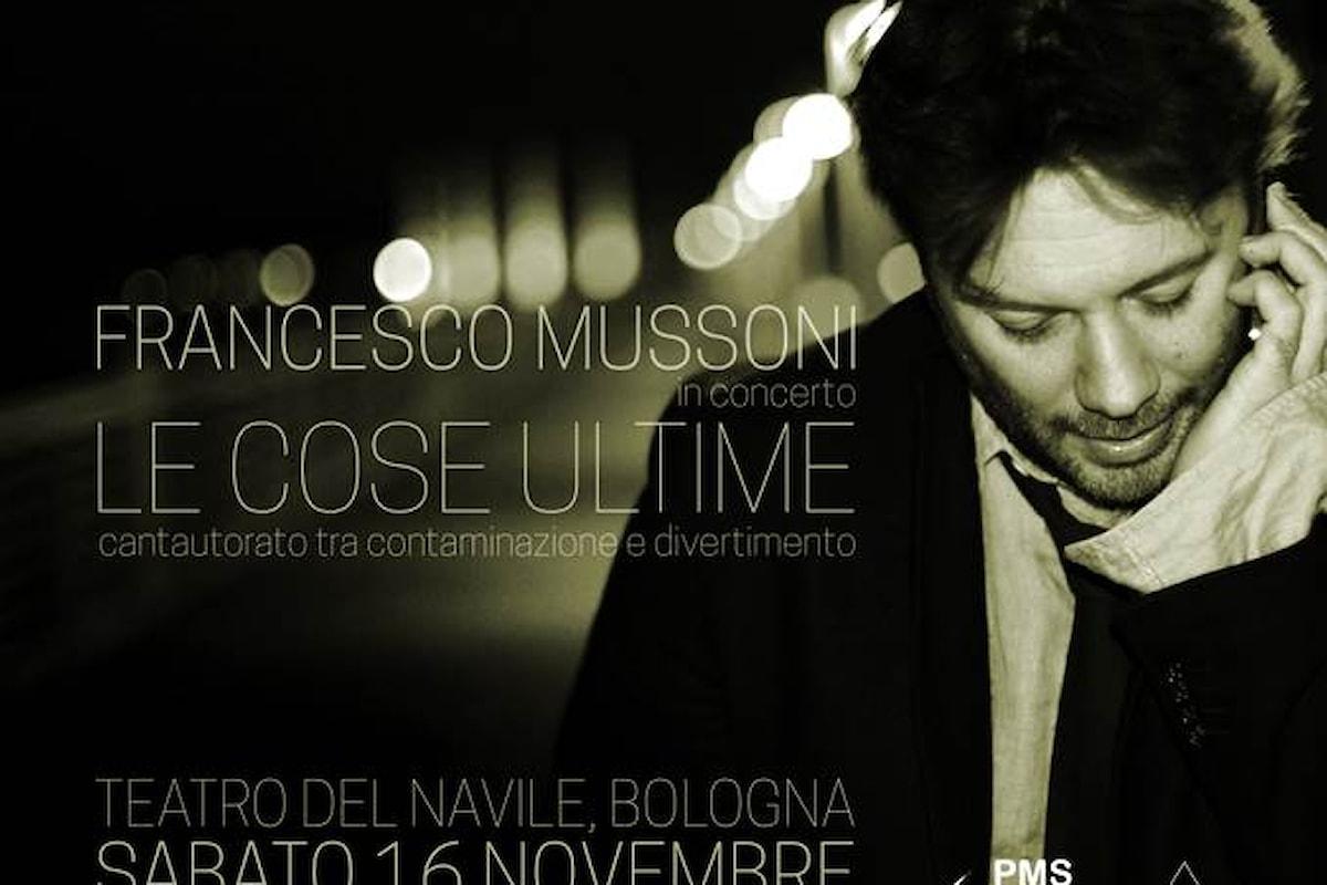 Francesco Mussoni in concerto al Teatro del Navile di Bologna