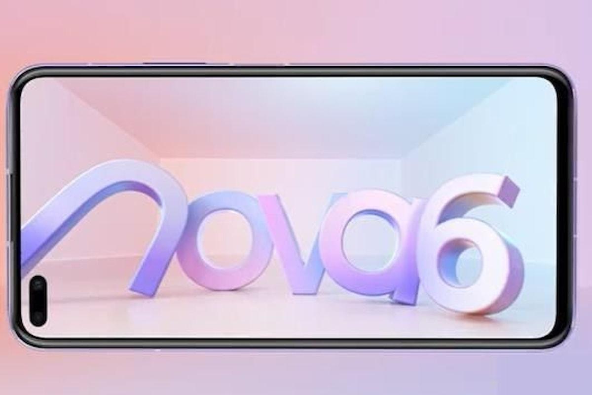 Huawei Nova 6 utilizzerà il Kirin 990 con integrato il modem 5G e farà felici gli amanti dei selfie di gruppo