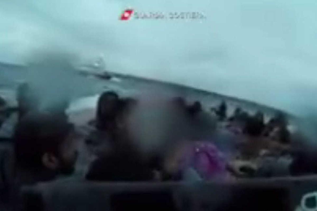Le drammatiche immagini del naufragio del 23 novembre davanti a Lampedusa