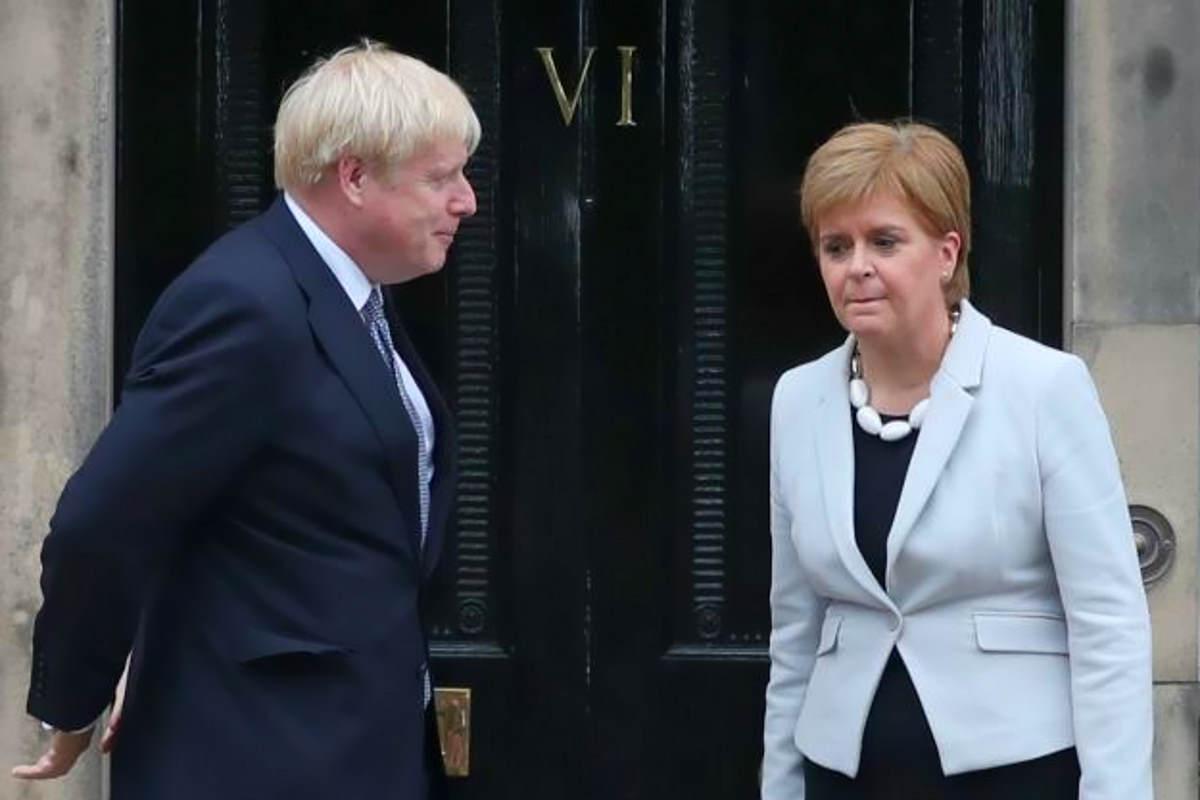 La Gran Bretagna ha votato per lasciare l'Ue, la Scozia ha votato per lasciare la Gran Bretagna