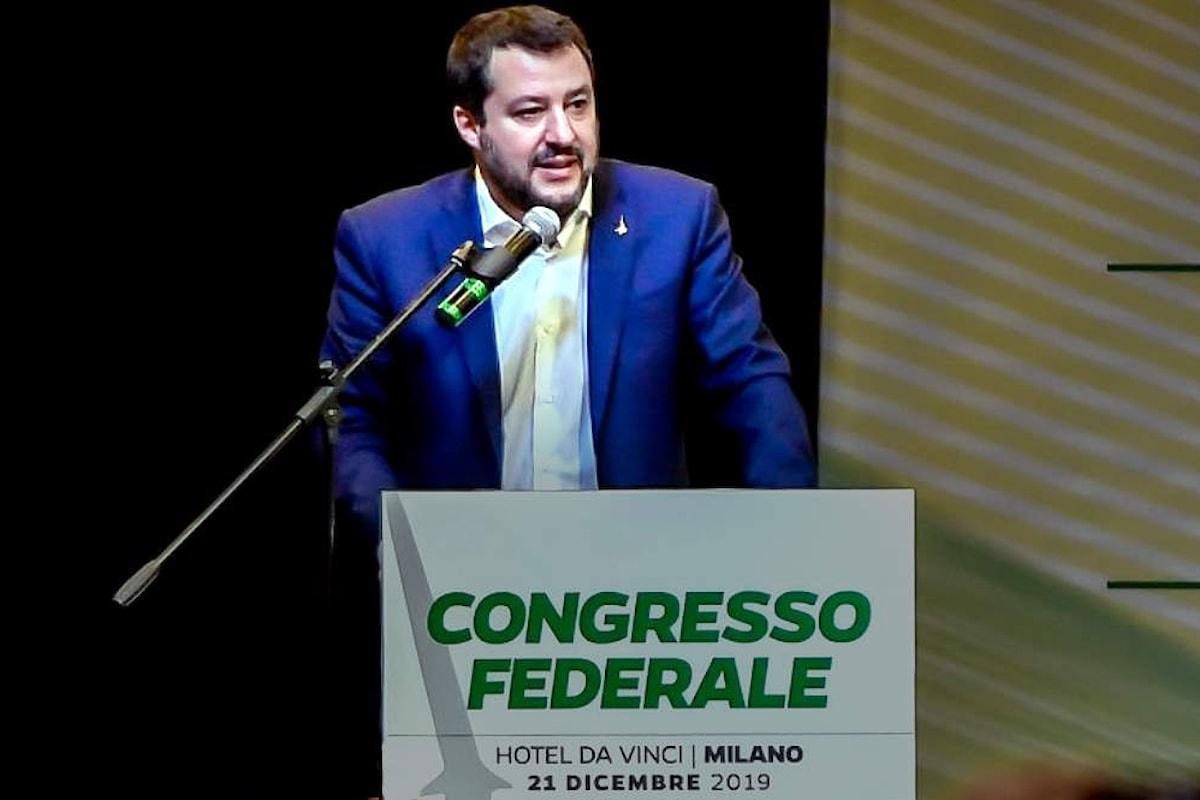 La Lega a congresso, è ufficialmente nato il partito dei furbi