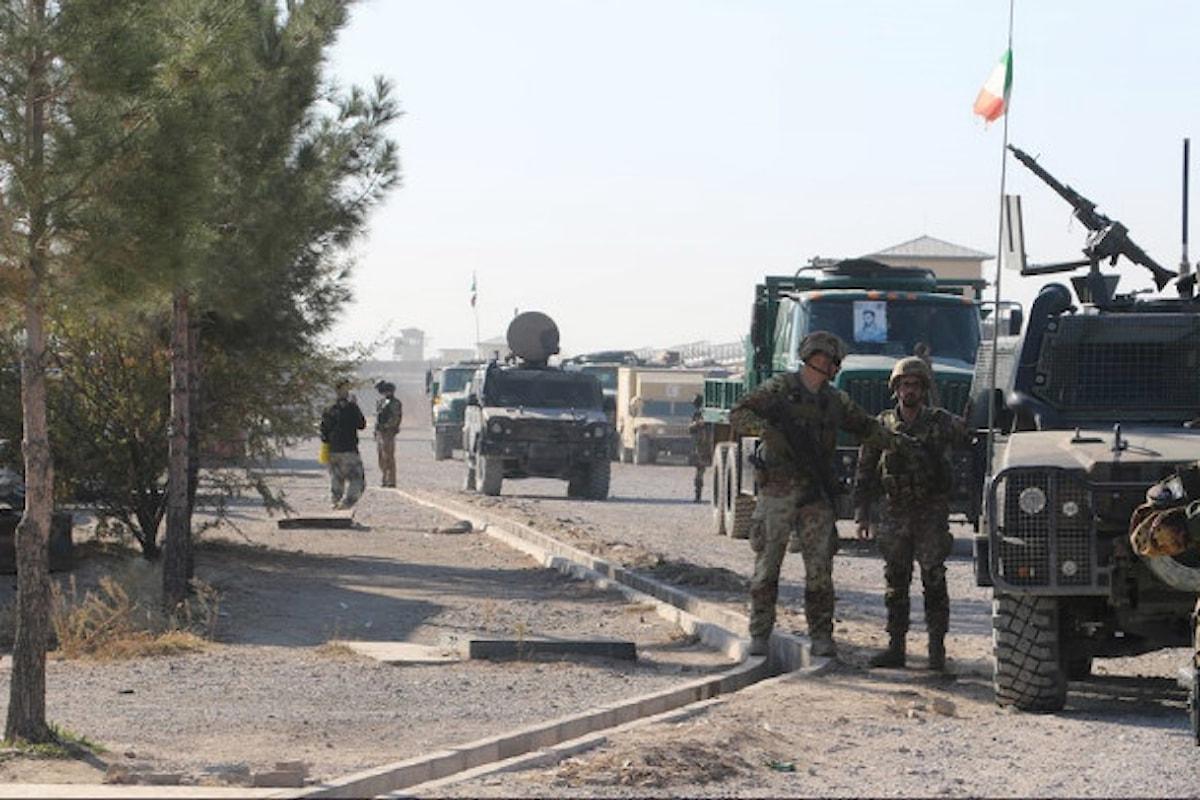 Afghanistan, militari italiani portano a termine attività di assistenza e consulenza a forze di sicurezza afgane