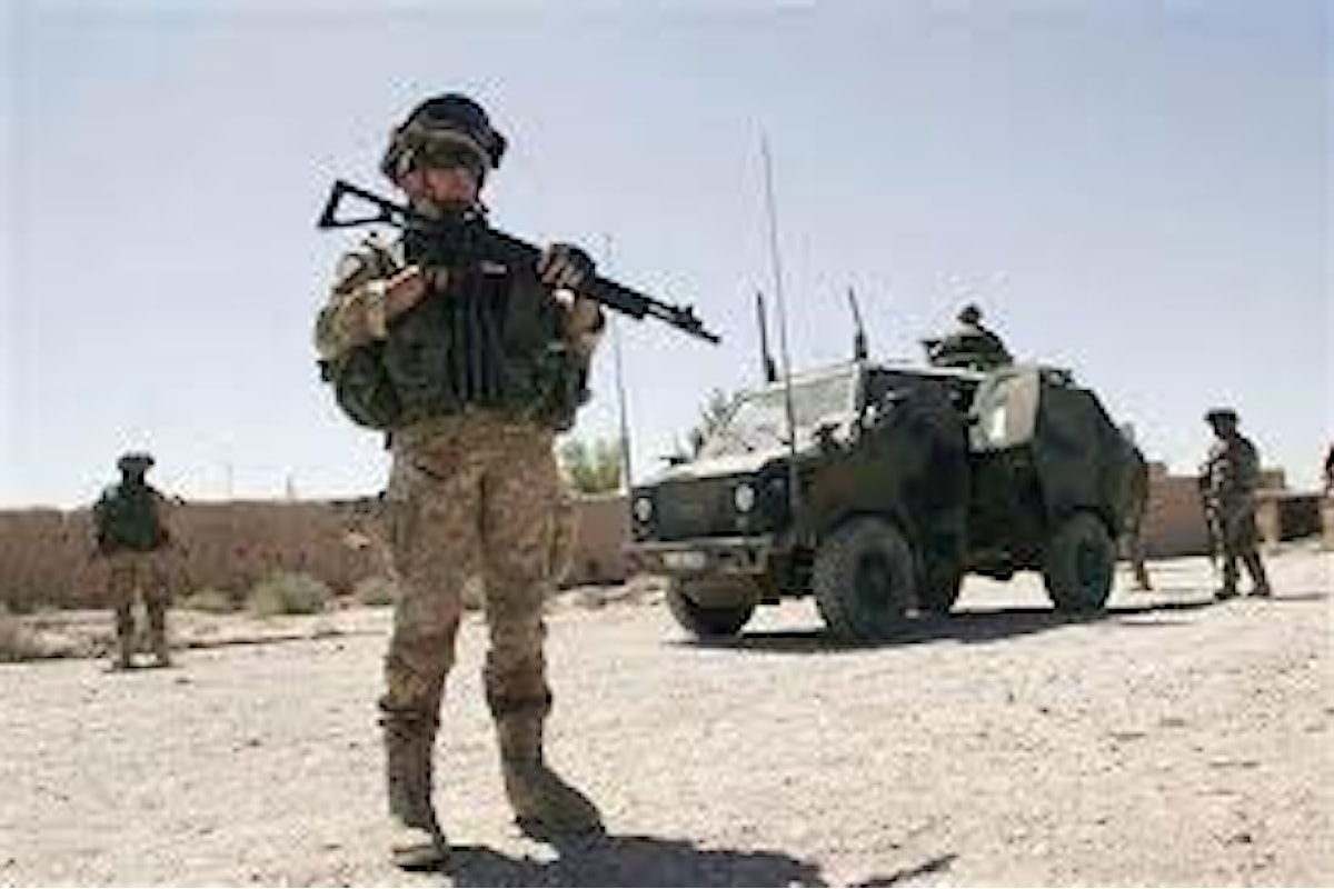 Bari, militari della Brigata Pinerolo si addestrano con nuovo munizionamento non letale
