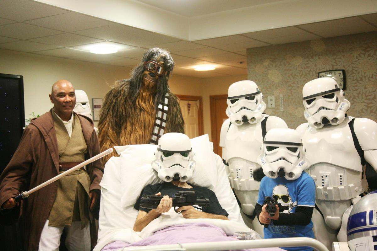 La Disney ha concesso a un malato terminale di vedere in anteprima Star Wars: L'Ascesa di Skywalker