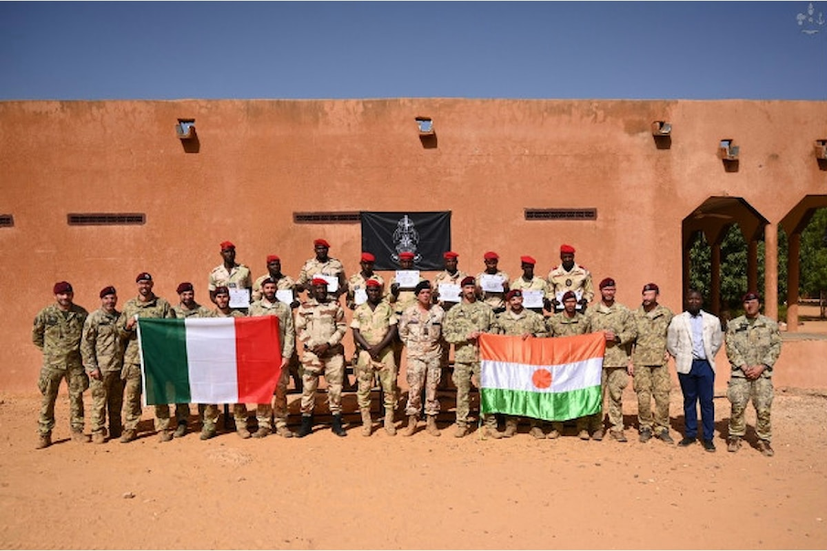 Niger, i Parà della Folgore addestrano la Guardia Nazionale