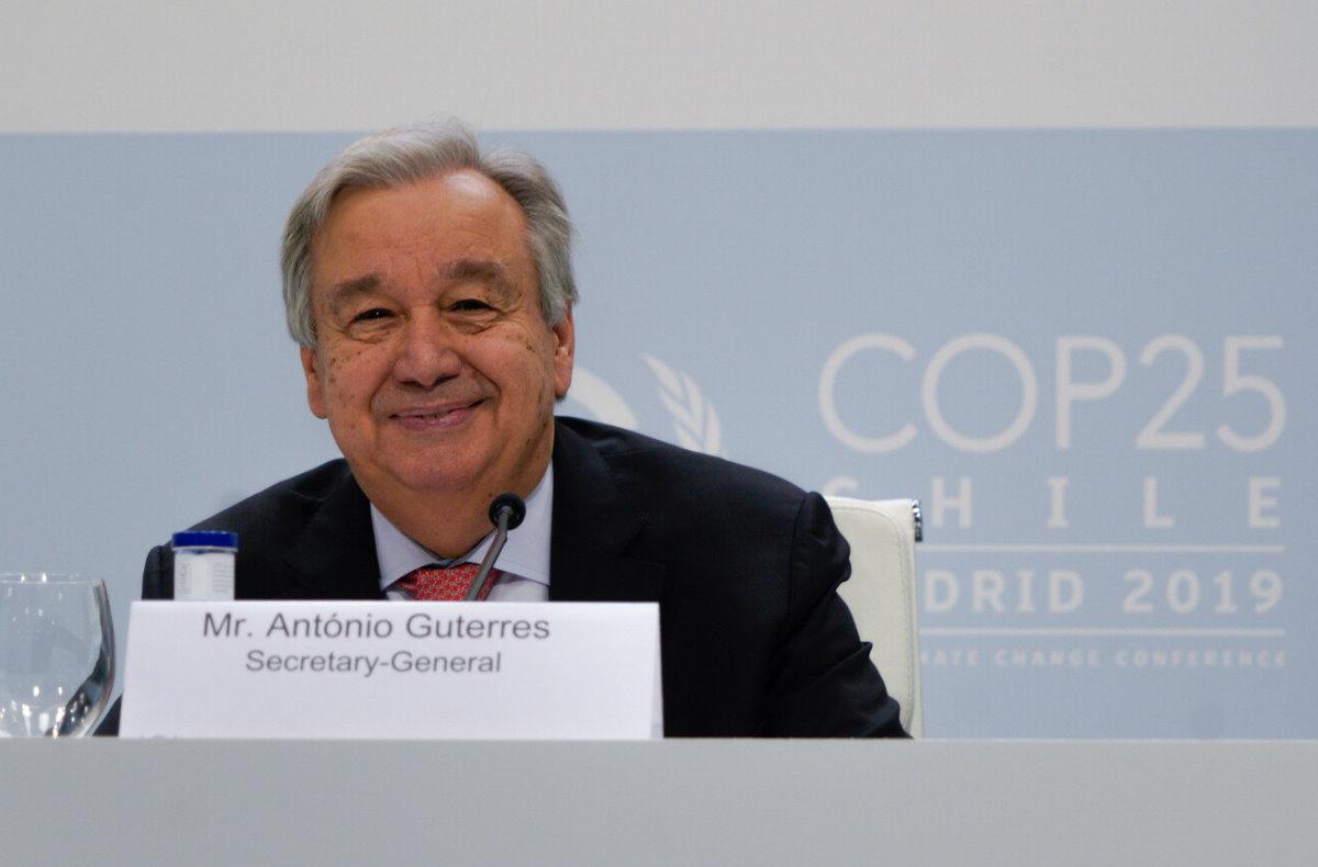 Iniziata a Madrid la conferenza sul clima COP 25