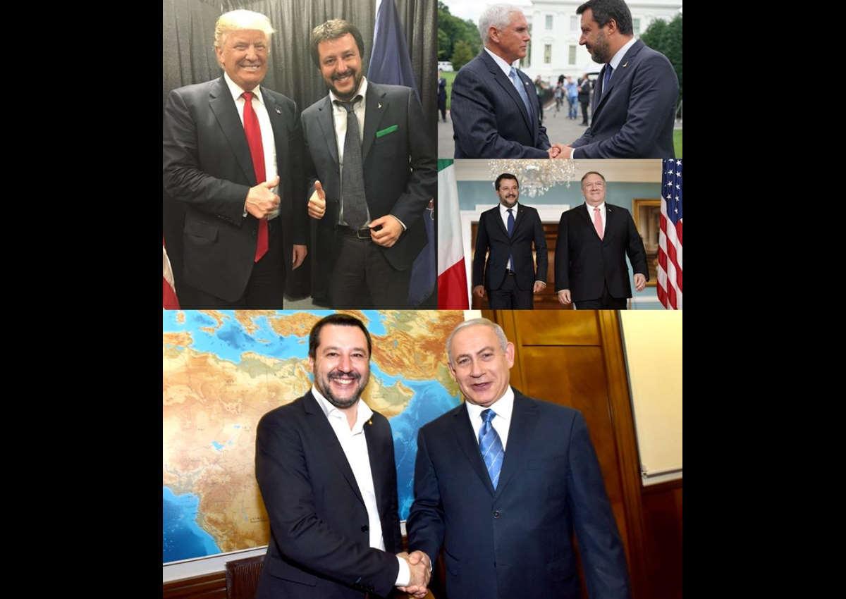 L'assurdo commento di Salvini che si complimenta con Trump per l'uccisione del generale iraniano Qasem Soleimani