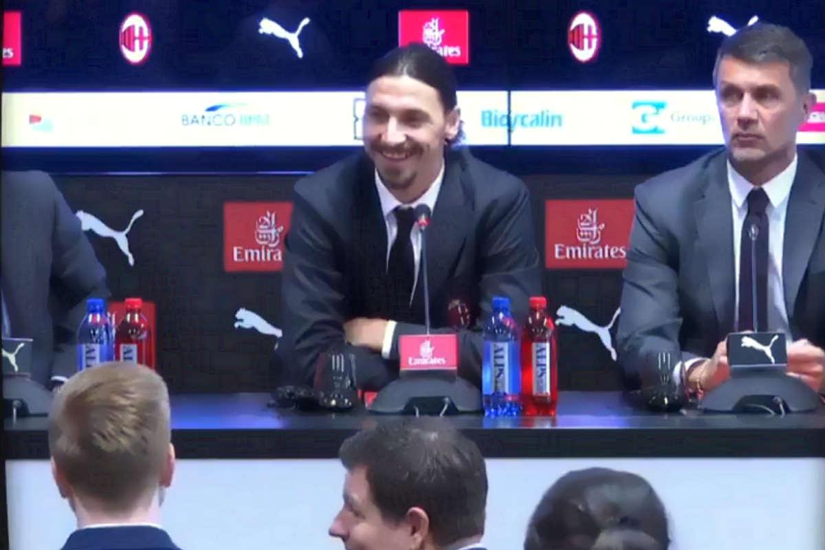 Zlatan è tornato... al Milan