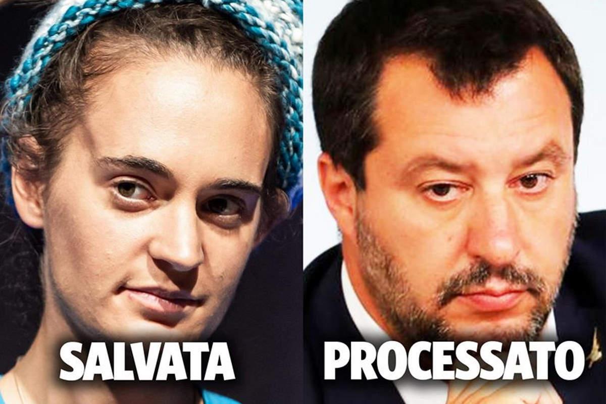 Rackete libera e Salvini a processo? La Giunta per le immunità voterà il 20 gennaio