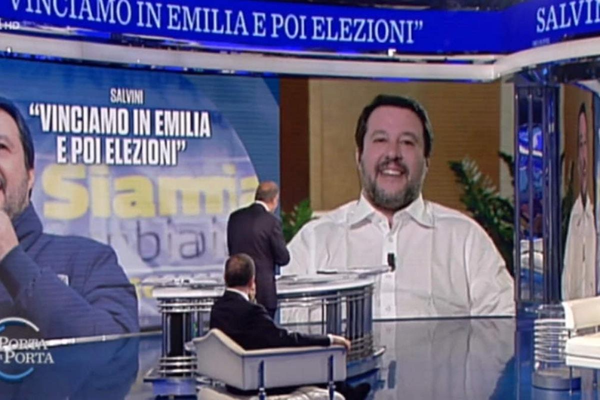 Vespa ammette di aver esagerato con lo spot pro Salvini di Porta a Porta