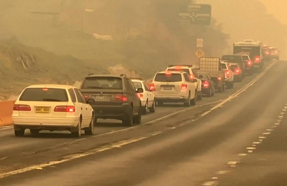Incendi in Australia, dichiarato lo stato di emergenza nel Nuovo Galles del Sud