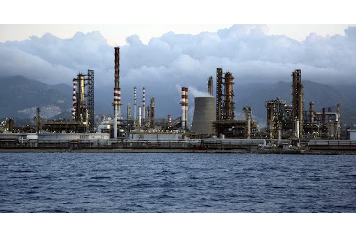 Valle del Mela (ME) – Nota di associazioni e comitati ambientali sul rischio di blocco alla Raffineria