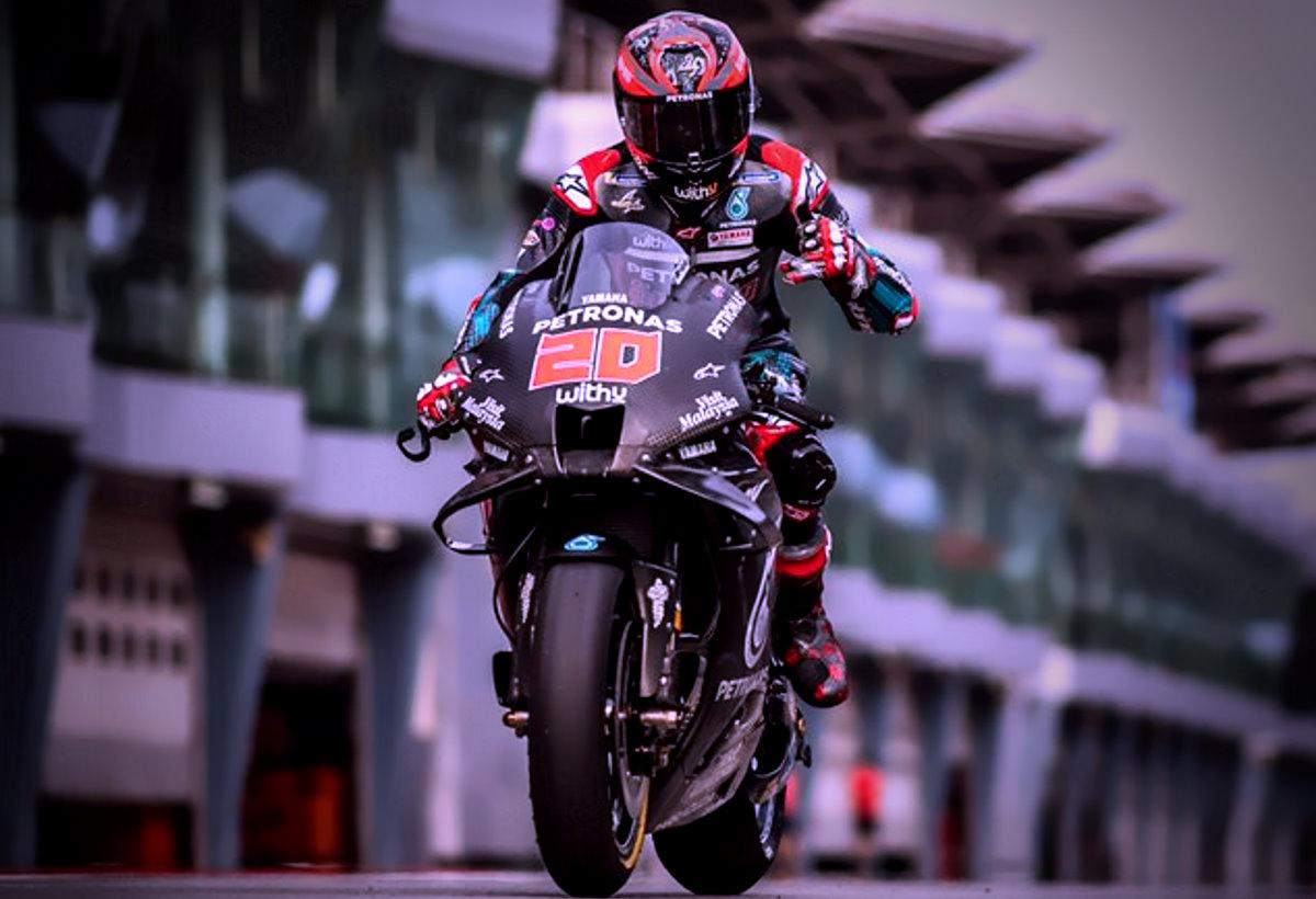 Quartararo il più veloce a Sepang nel primo test della MotoGP per la stagione 2020