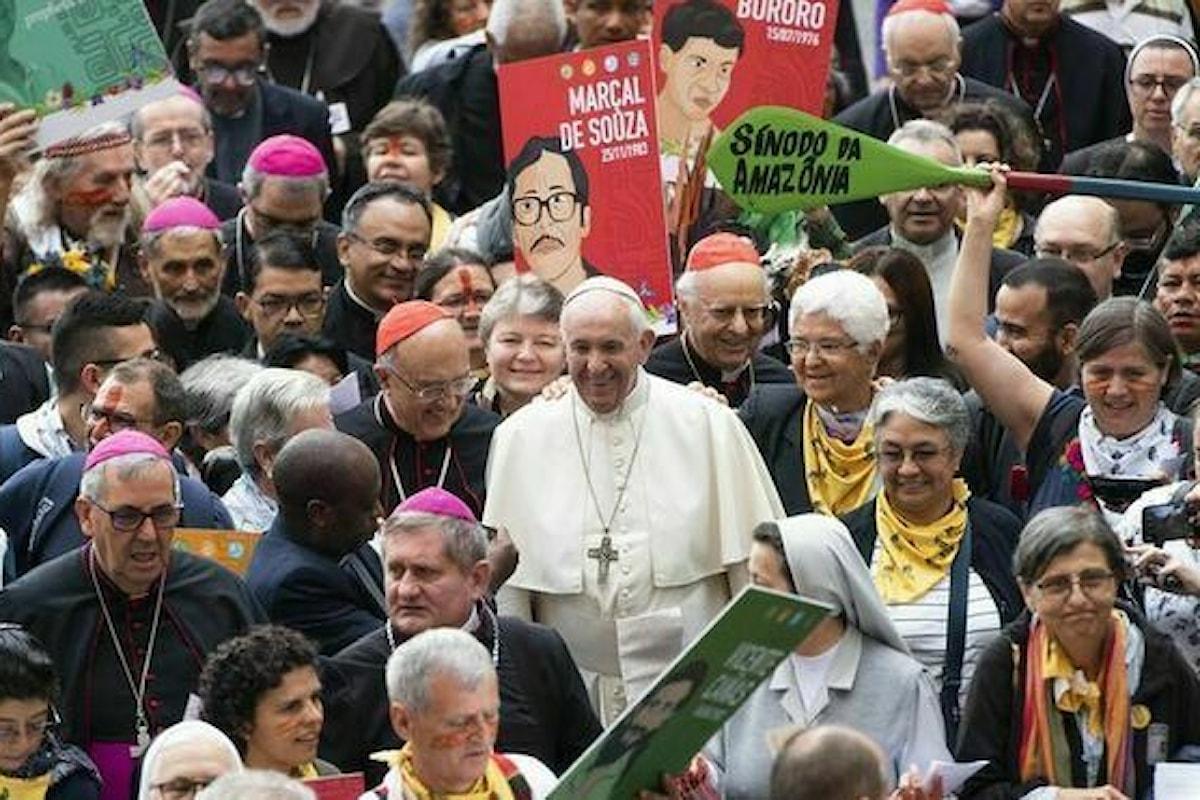 Cara Amazzonia, l'attesa esortazione del Papa, sarà resa nota il 12 febbraio alle ore 13 nell'Aula Giovanni Paolo II