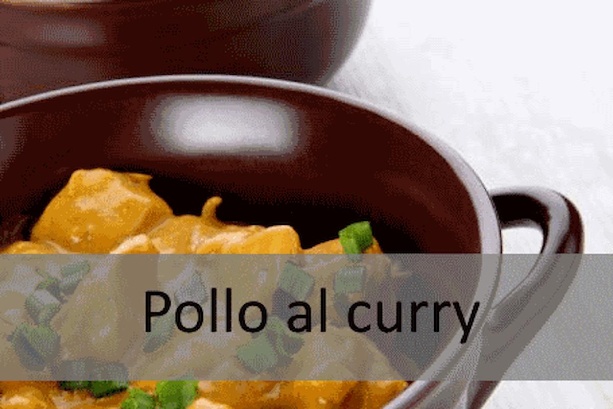 Ricetta senza #Glutine - Pollo al curry