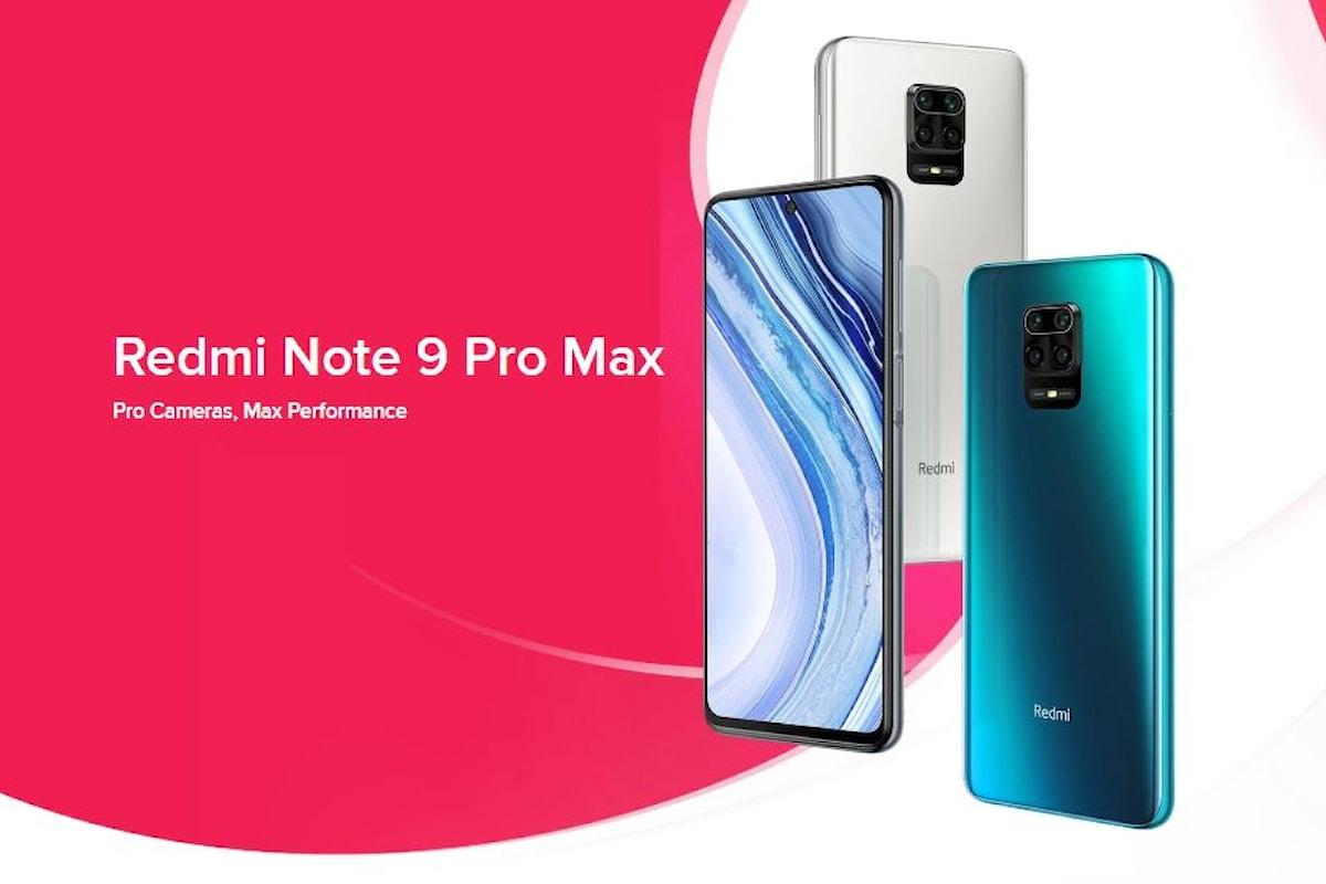 Redmi Note 9 Pro Max presentato ufficialmente: un Redmi Note 9 un po' Max, ma forse meno interessante