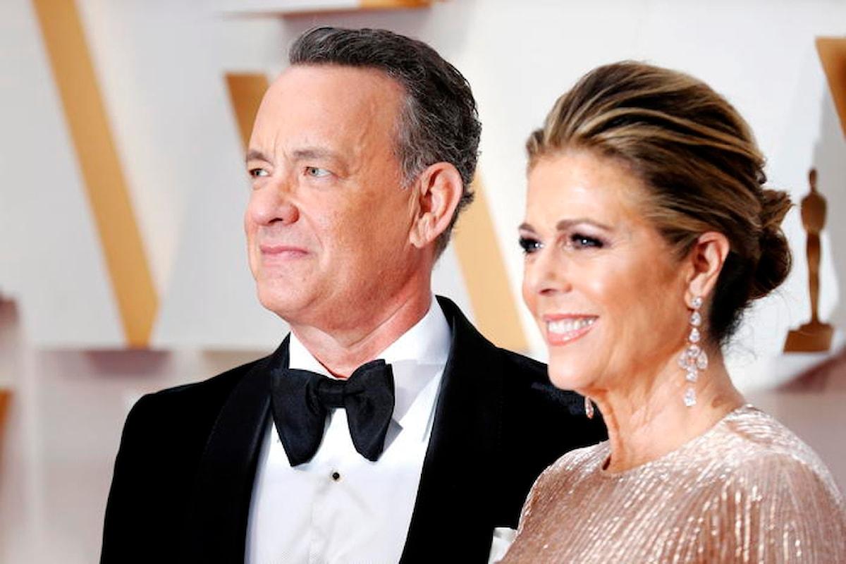 Tom Hanks e la moglie Rita annunciano di essere positivi al coronavirus