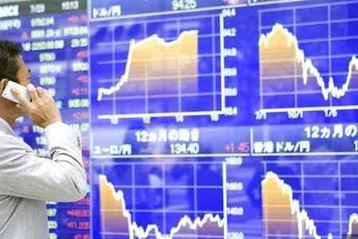 Azionario, non si ferma la discesa. A Tokyo il Topix sui minimi dal 2018