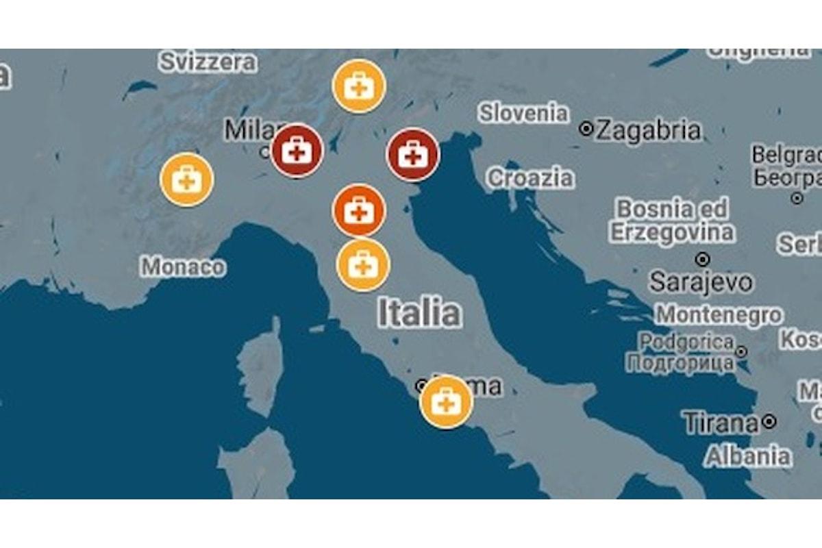 Coronavirus in Italia: Per osservare se e quanto le misure prese siano efficaci dovremo attendere circa due settimane